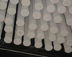 Filtro manga para moinho