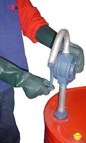 Bomba rotativa de ferro fundido