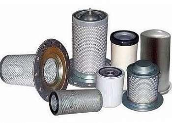 Elemento filtrante gás