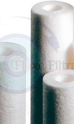 Filtro cartucho de polipropileno
