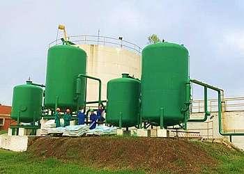 Filtro central industrial