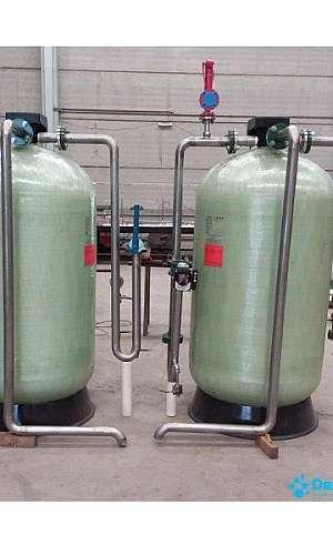 Filtro de carvão ativado para água