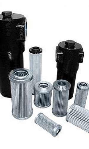Filtro hidráulico industrial