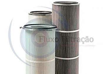 Distribuidor de filtro de manga plissada
