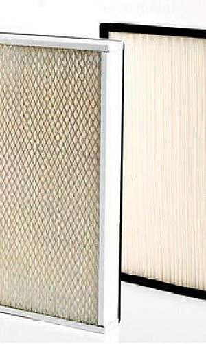 Filtro para cabine de pintura a pó