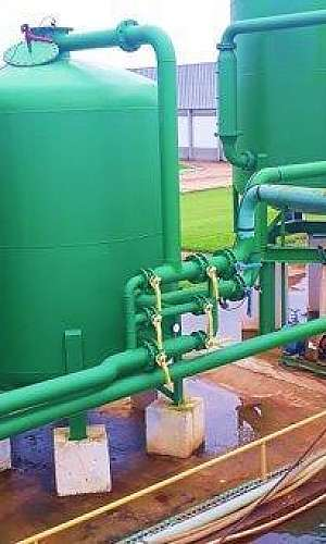 Filtro para tratamento de água