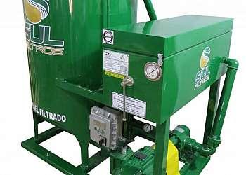 Filtro prensa pequeno para postos de combustíveis