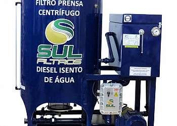 Filtro prensa tratamento de diesel