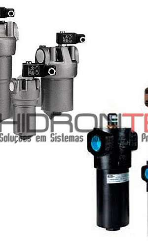 Filtros hidráulicos de pressão