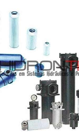 Filtros hidráulicos industriais