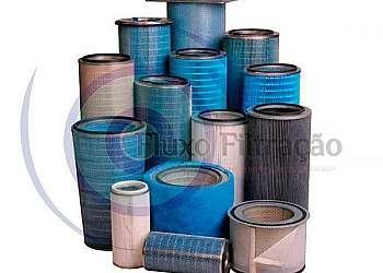 Sistema de exaustão filtro manga