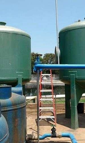 Filtros para tratamento de água industrial