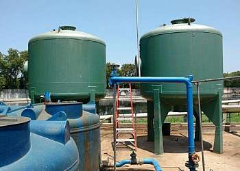 Filtro industrial para tratamento de água