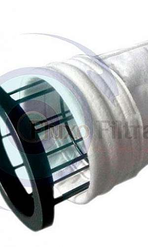 Gaiola filtro manga