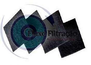 Elemento filtrante carvão ativado