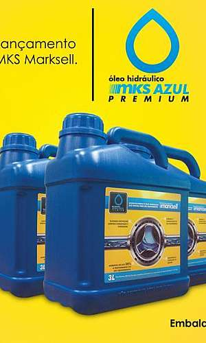 Óleo Hidráulico MKS Azul Marksell