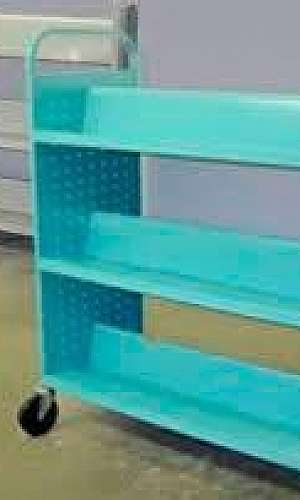 Pinturas eletrostáticas em móveis