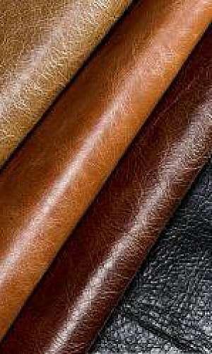 Resinas para aplicação em couro