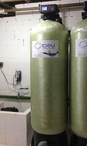 Sistema de filtragem de água de poço