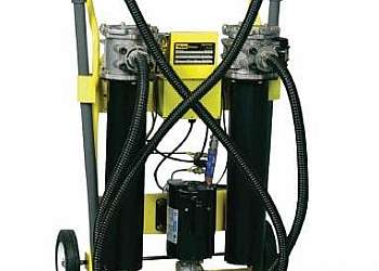 Sistema de filtragem de água industrial