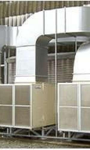 Sistemas de exaustão e ventilação industrial